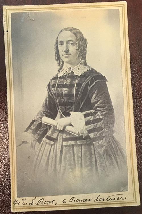 Who was Mrs. E.L. Rose?