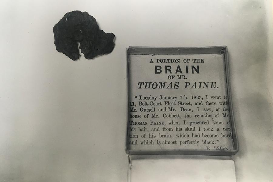 Thomas Paine's Missing and Scattered Body, that's Old News!